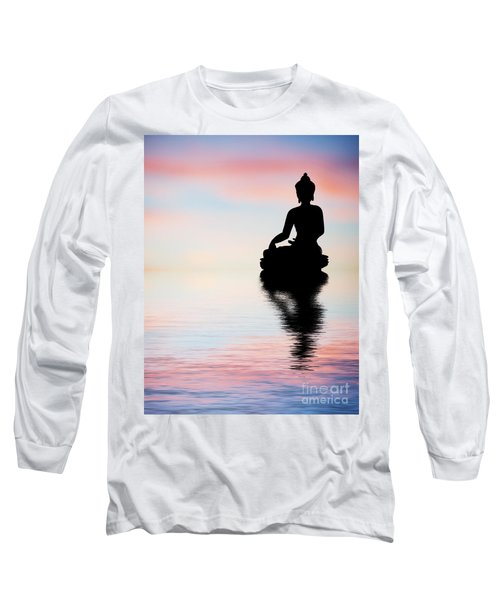 Buddha Reflection Long Sleeve T-Shirt