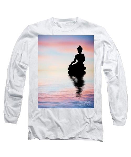Buddha Reflection Long Sleeve T-Shirt