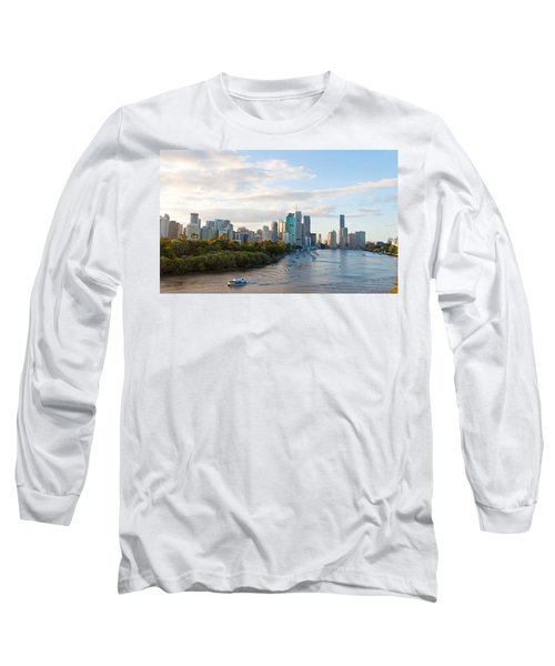 Buildings At The Waterfront, Brisbane Long Sleeve T-Shirt