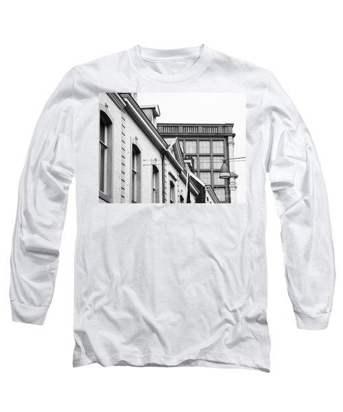Buildings In Maastricht Long Sleeve T-Shirt by Nick  Biemans