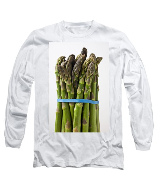 Bunch Of Asparagus  Long Sleeve T-Shirt by Garry Gay