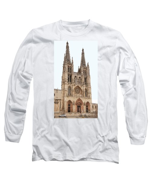 Long Sleeve T-Shirt featuring the photograph Burgos Cathedral Spain by Rudi Prott