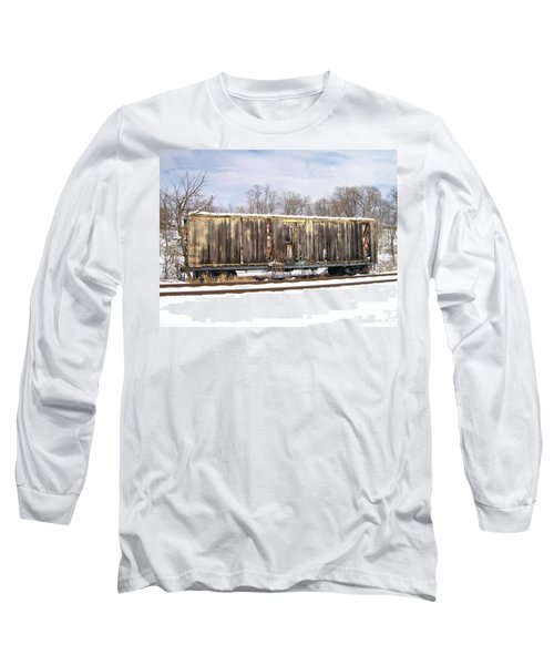 Long Sleeve T-Shirt featuring the photograph Burnt by Sara  Raber