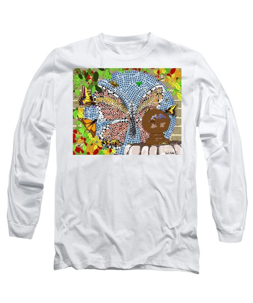 Butterflies And Bees Long Sleeve T-Shirt