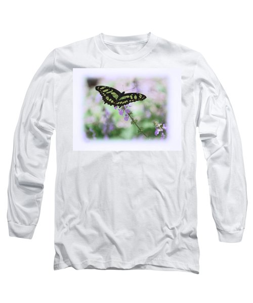Long Sleeve T-Shirt featuring the photograph Butterfly 8 by Leticia Latocki