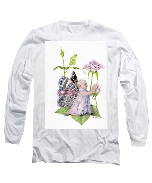 Butterfly Baby Long Sleeve T-Shirt by Laurianna Taylor