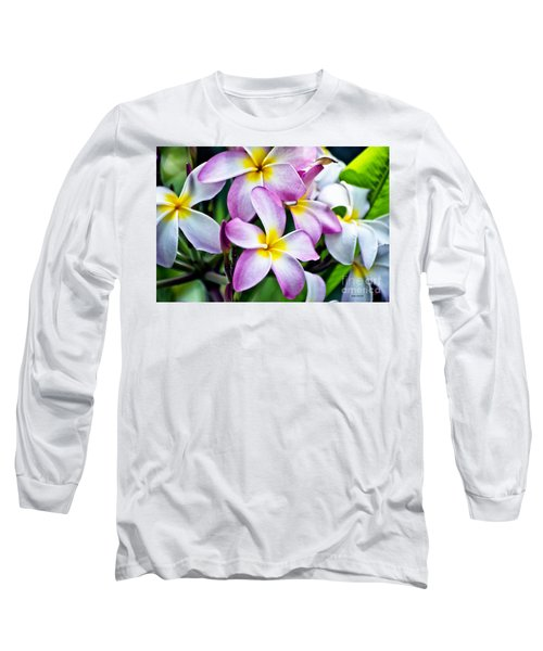 Long Sleeve T-Shirt featuring the photograph Butterfly Flowers by Thomas Woolworth