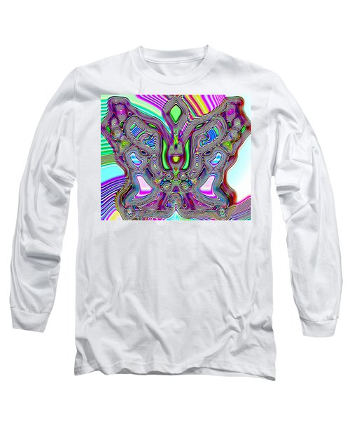 Butterfly Groove Long Sleeve T-Shirt