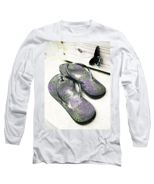 Butterfly Summer Long Sleeve T-Shirt