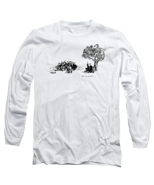 Buy Low, Sell High! Long Sleeve T-Shirt