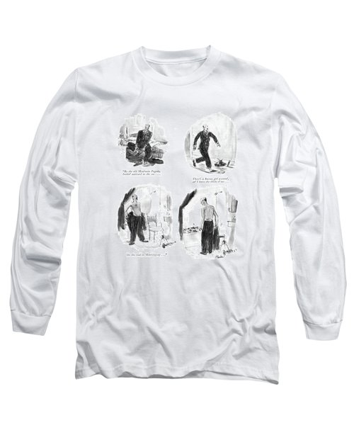 By The Old Moulmein Pagoda Long Sleeve T-Shirt