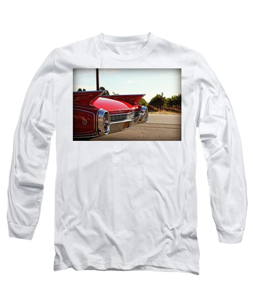 Cadillac In Wine Country  Long Sleeve T-Shirt