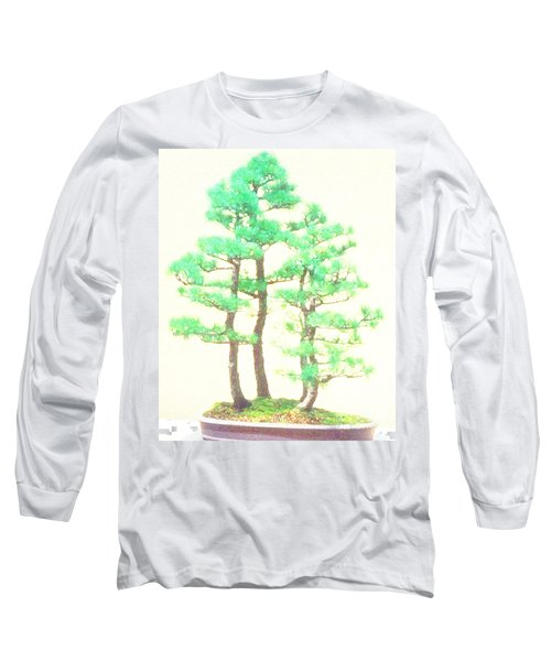 Caitlin Elm Bonsai Tree Long Sleeve T-Shirt