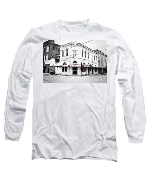 Cajun Corner Cafe Long Sleeve T-Shirt by Scott Pellegrin