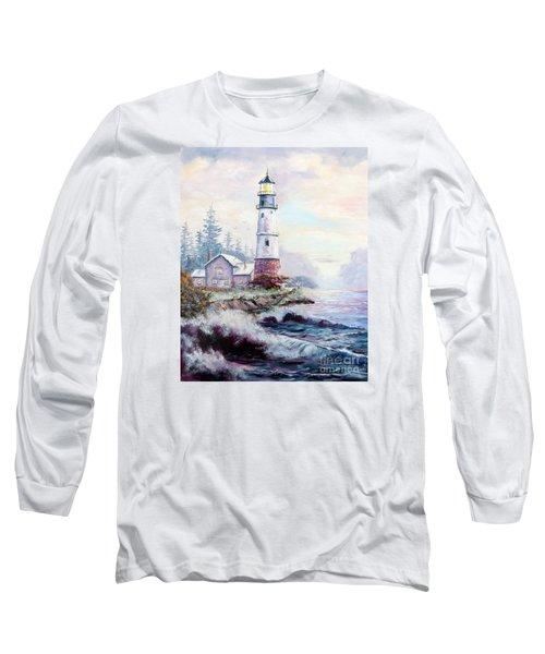 California Lighthouse Long Sleeve T-Shirt