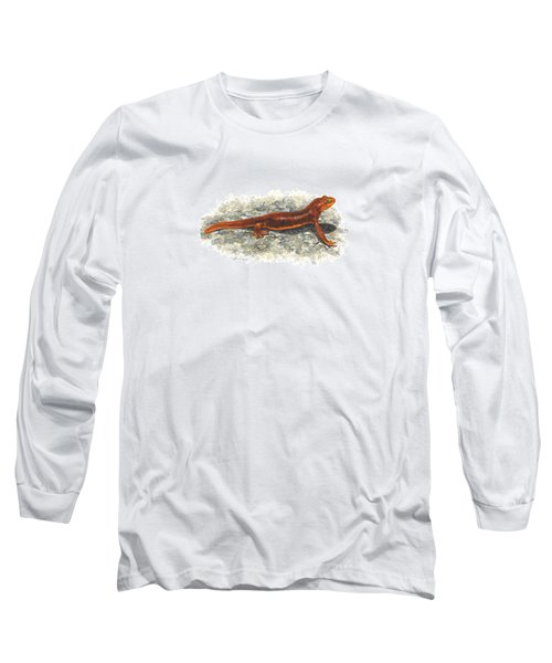 California Newt Long Sleeve T-Shirt by Cindy Hitchcock