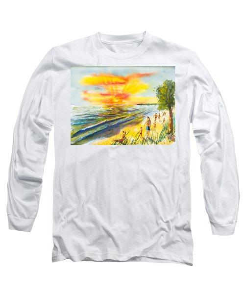 California Sunset Long Sleeve T-Shirt