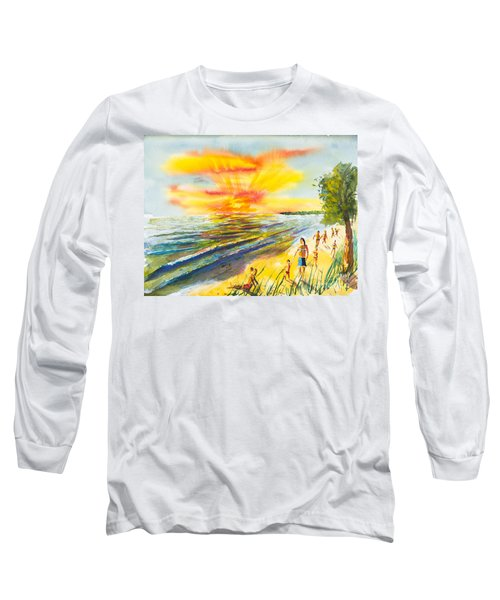 California Sunset Long Sleeve T-Shirt