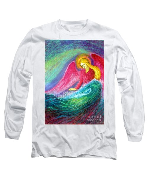 Calming Angel Long Sleeve T-Shirt
