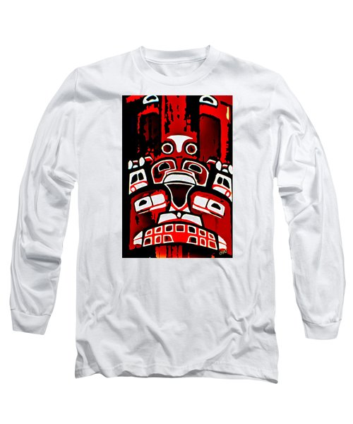 Canada - Inuit Village Totem Long Sleeve T-Shirt
