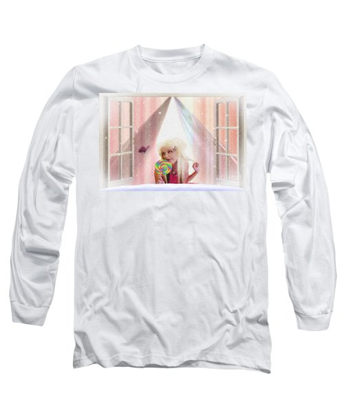 Candy Kisses Long Sleeve T-Shirt by Liane Wright