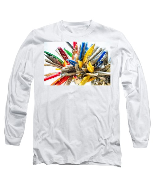 Canoe Art II Long Sleeve T-Shirt