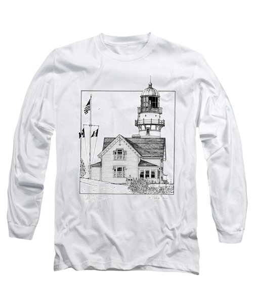 Cape Elizabeth Lighthouse Long Sleeve T-Shirt