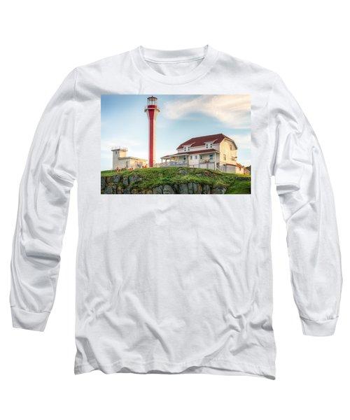 Cape Forchu Lighthouse Long Sleeve T-Shirt