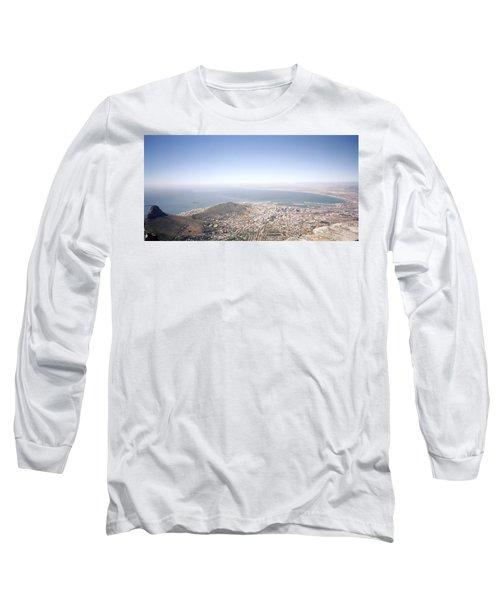 Cape Town Panorama Long Sleeve T-Shirt by Shaun Higson