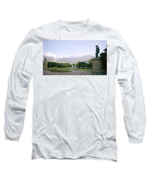 Cape Town Twilight Long Sleeve T-Shirt by Shaun Higson