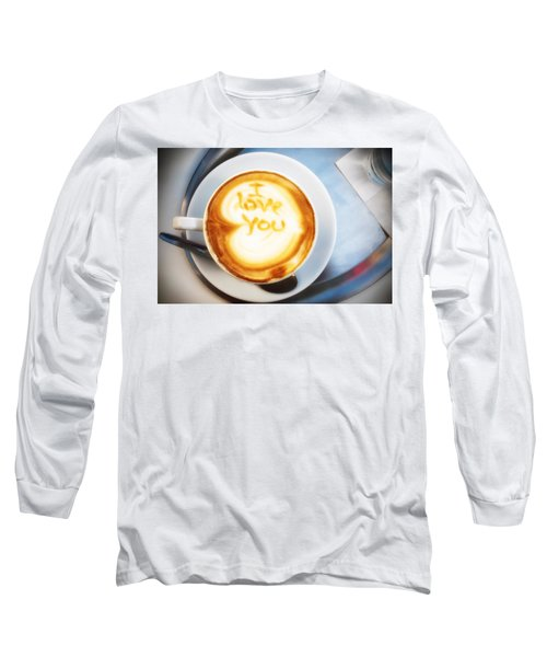 Cappuccino Long Sleeve T-Shirt