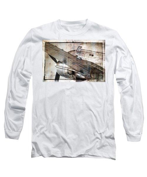 Long Sleeve T-Shirt featuring the photograph Captain's Flight by Steven Bateson