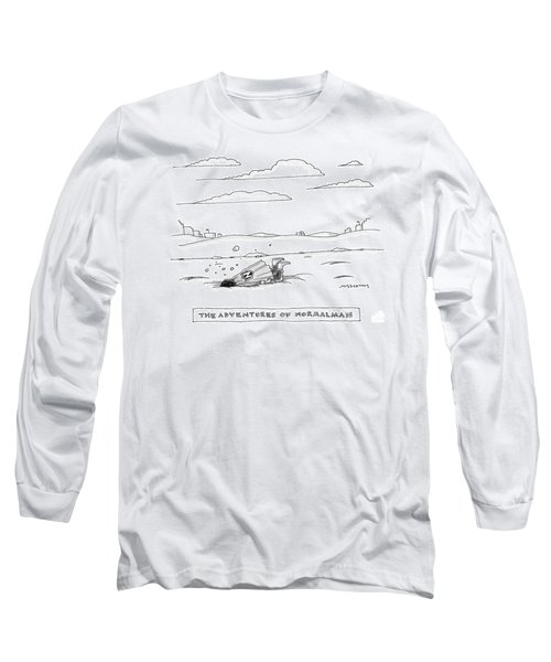Captionless. Title: The Adventures Of Normalman Long Sleeve T-Shirt
