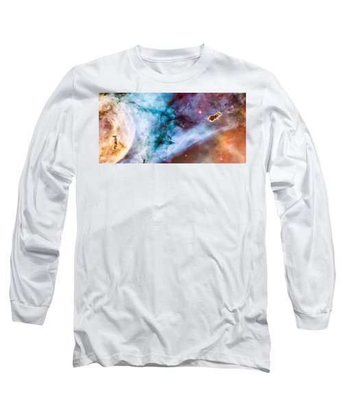 Carina Nebula Details - The Caterpillar Long Sleeve T-Shirt