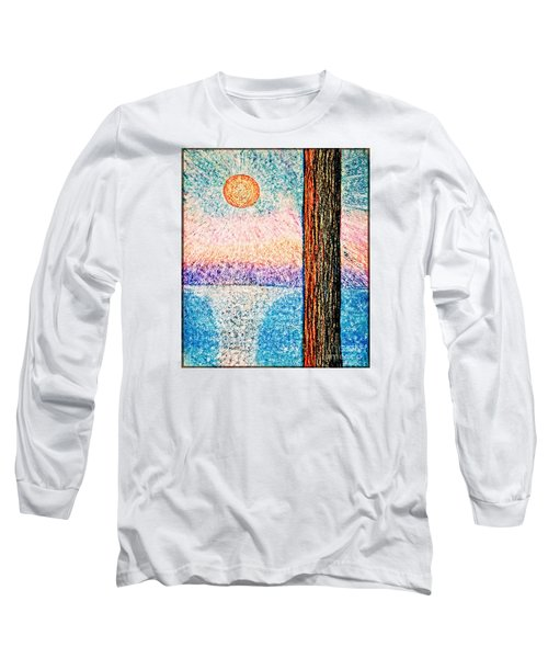 Carmel Highlands Sunset Long Sleeve T-Shirt