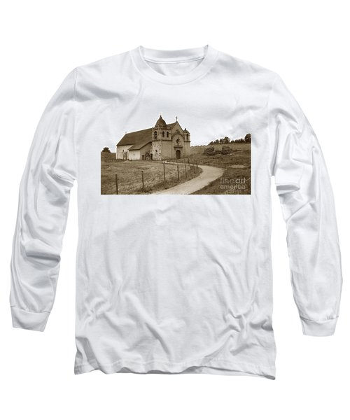 Carmel Mission Monterey Co. California Circa 1890 Long Sleeve T-Shirt