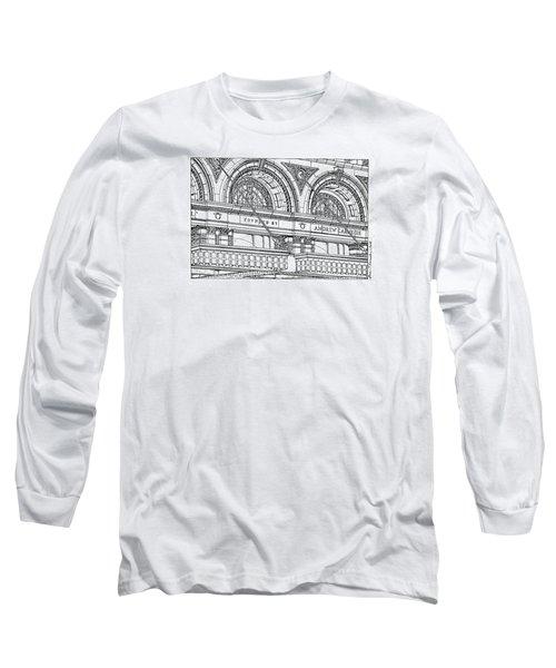 Carnegie Hall Long Sleeve T-Shirt by Ira Shander