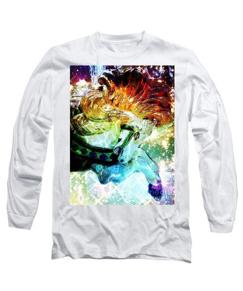 Carousel Sparkle Long Sleeve T-Shirt