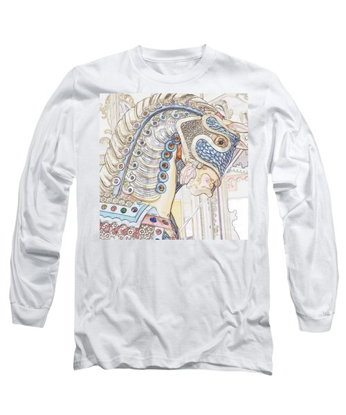 Carousel Stallion Long Sleeve T-Shirt
