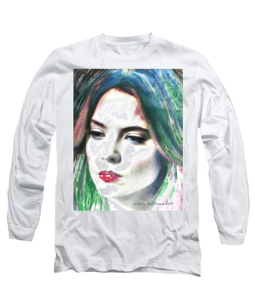 Carrie Stages Long Sleeve T-Shirt by Kim Prowse