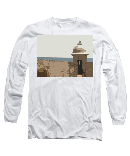 Casita Long Sleeve T-Shirt by Julio Lopez