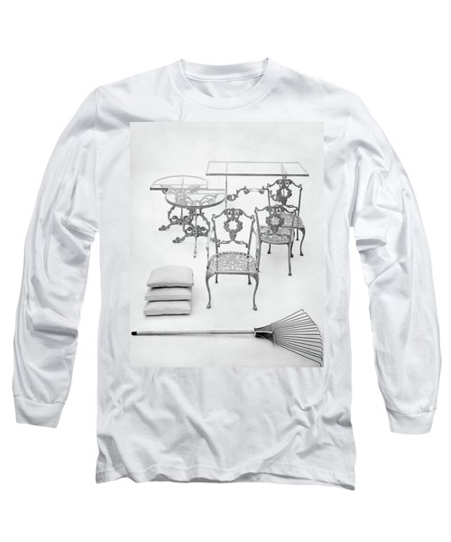 Cast Aluminum Furniture By Molla Long Sleeve T-Shirt