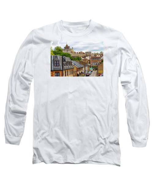 Castle Above The Town Long Sleeve T-Shirt