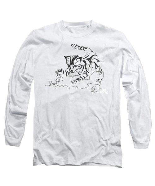 Cat- Cute Kitty  Long Sleeve T-Shirt