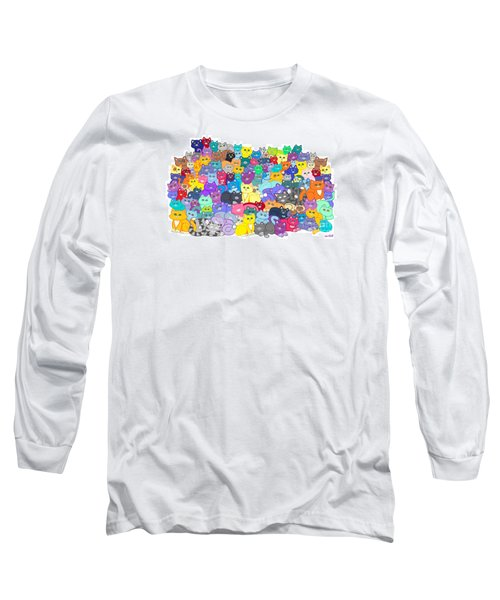 Catastrophy Long Sleeve T-Shirt by Nick Gustafson