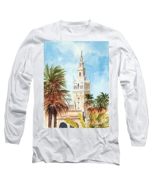 Catedral De Sevilla Long Sleeve T-Shirt