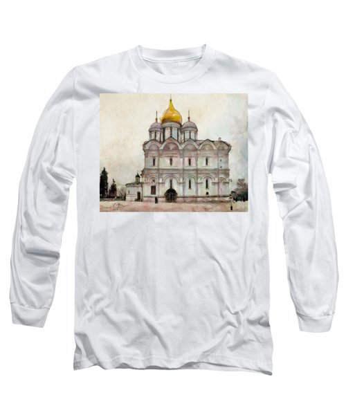Cathedral Of The Archangel Long Sleeve T-Shirt