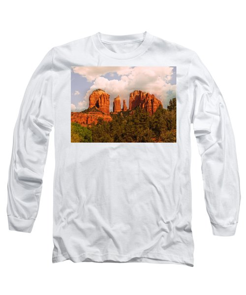 Cathedral Rock Sunset Long Sleeve T-Shirt