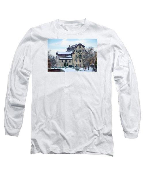 Cedarburg Mill Long Sleeve T-Shirt by Susan  McMenamin
