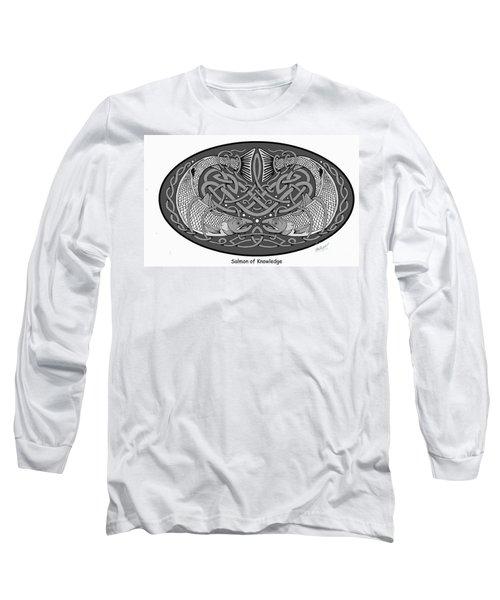 Celtic Salmon Long Sleeve T-Shirt